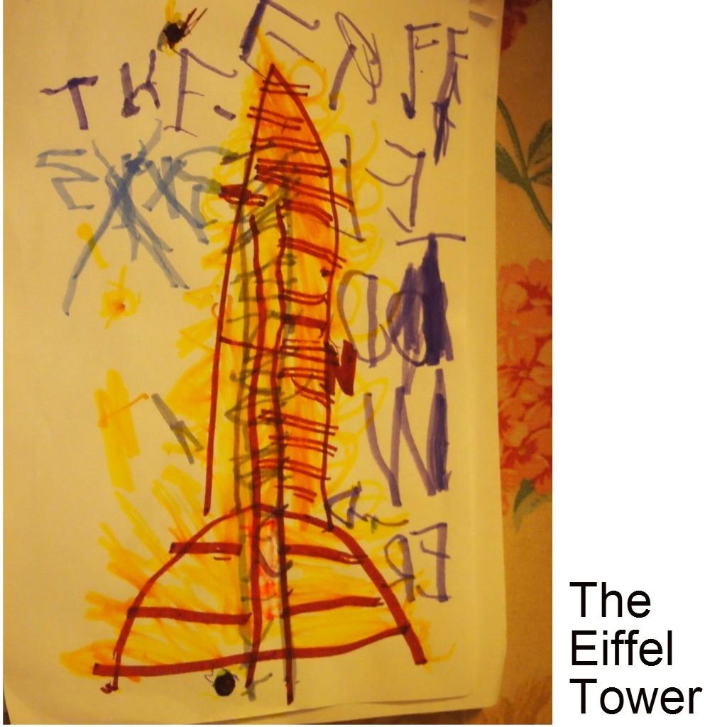 august 2014 eiffel tower