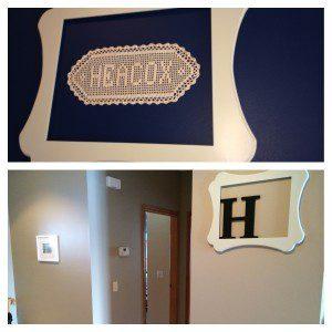 frame of H