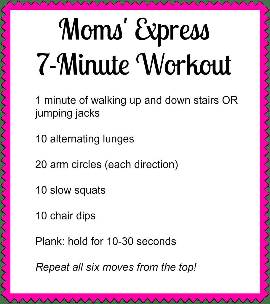 Moms Express Workout