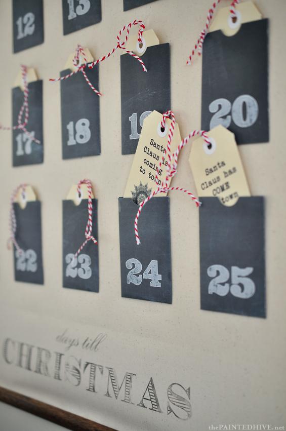 8 diy advent calendar ideas. Black Bedroom Furniture Sets. Home Design Ideas