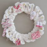 DIY Diaper Wreath