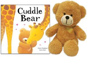 cuddle bear book and plush