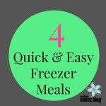 Quick & Easy Crockpot Freezer Meals