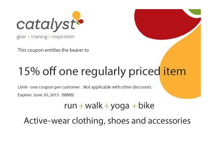 Catalyst Discount Card
