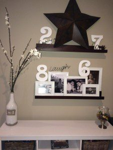 blog entryway shelves