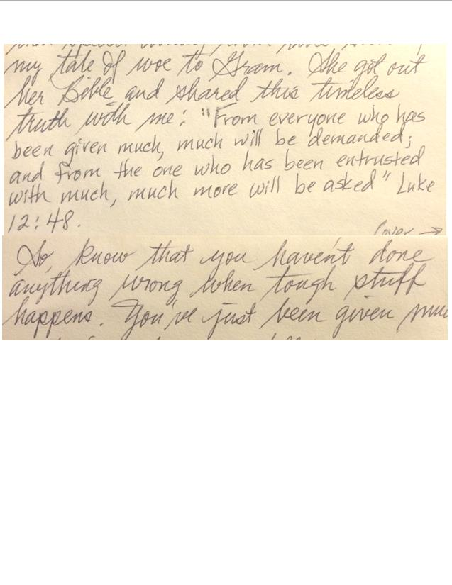 Vicki Letter