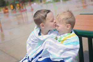 Splash Pad Kisses