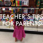 Tips From Teachers to Parents
