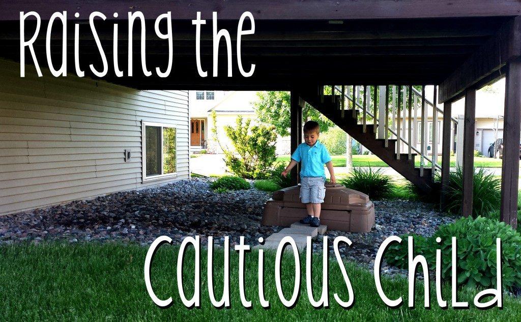 cautious child