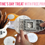 Valentine's Day Treat with a Free Printable (and Colorable!) Tag