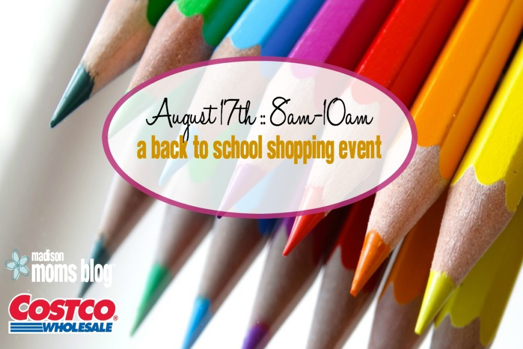 costco moms hour a back to school shopping event