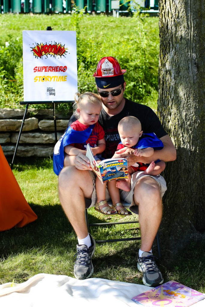 superhero storytime photo