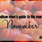 A Madison Mom's Guide to November 2017