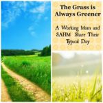 The Grass Is Always Greener: One Day as a Working Mom