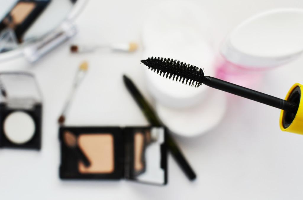 makeup and mascara