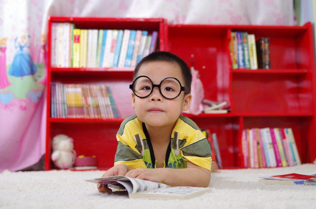 Toddler in Glasses