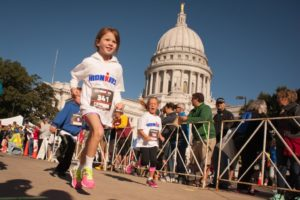 IronKids, Madison Capitol SquareSeptember 12, 2015 IronKids Fun Run