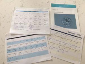IVF shot schedule