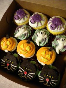 I'm sure the 18-month-olds appreciated all the extra time and love put into these cupcakes...