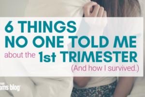 Surviving 1st Trimester Madison Moms Blog