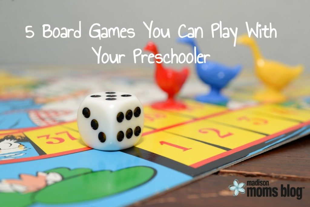 5 Board Games You Can Play with your Preschooler Title Image