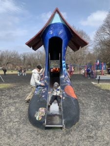 Shoe Silde at Vilas Park
