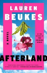 """book cover """"Afterland"""""""