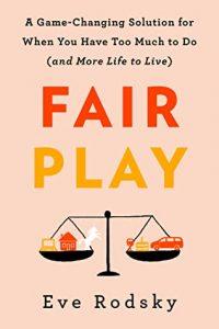 """book cover """"Fair Play"""""""