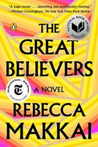 """Book cover """"The Great Believers"""""""