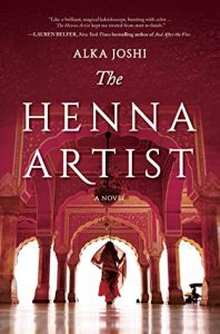 """book cover """"The Henna Artist"""""""