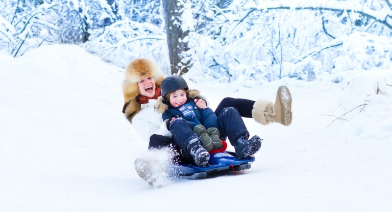 Best Sledding Hills in Madison, WI for Kids